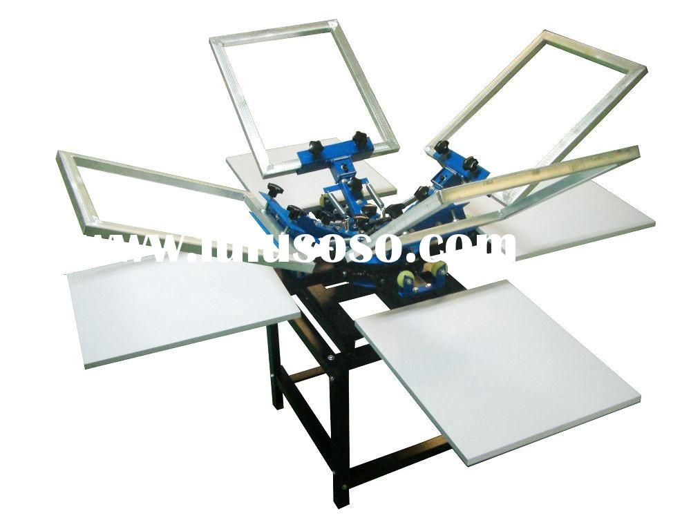 Manual Silk Screen Printing Machine - 6 Color