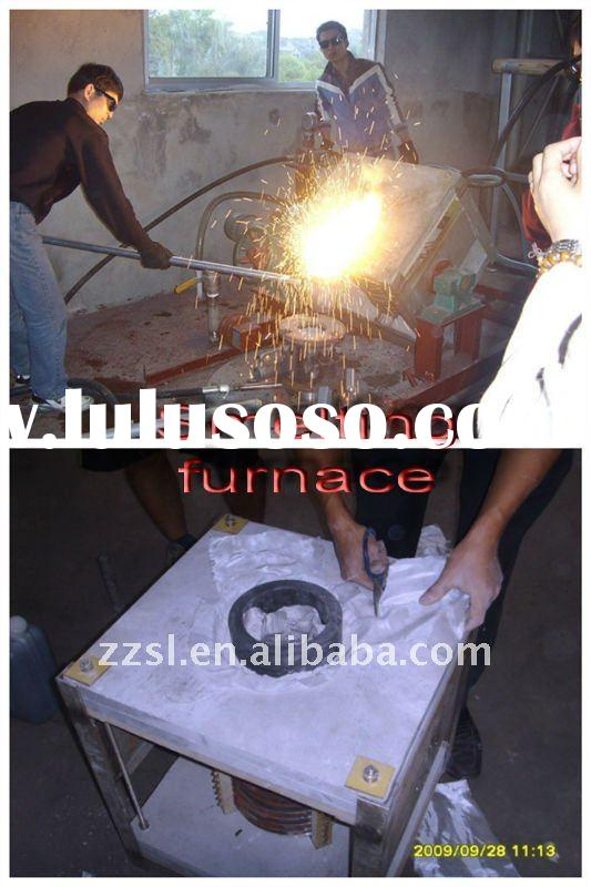 Medium frequency small smelting furnace
