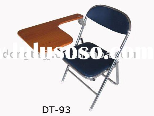 Metal Folding School Chair With Table