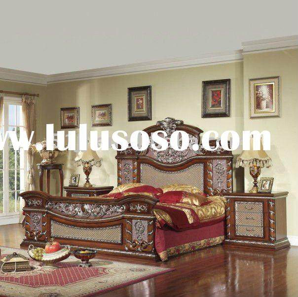 Middle East style bed DWS-9101B