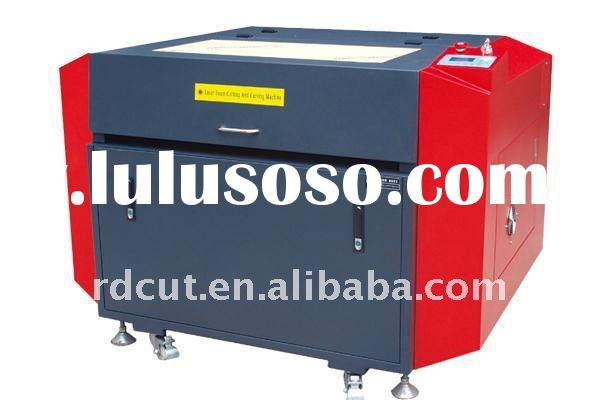 Mini Fabric laser cutting machine engraving router for plastic double plate PCB board glass