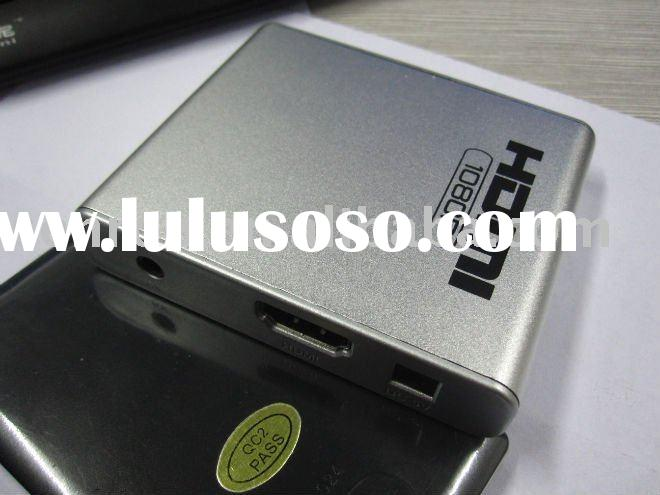 Mini HDD Media Player, HDMI Digital Output, Supports External HD, High Definition 1080 P