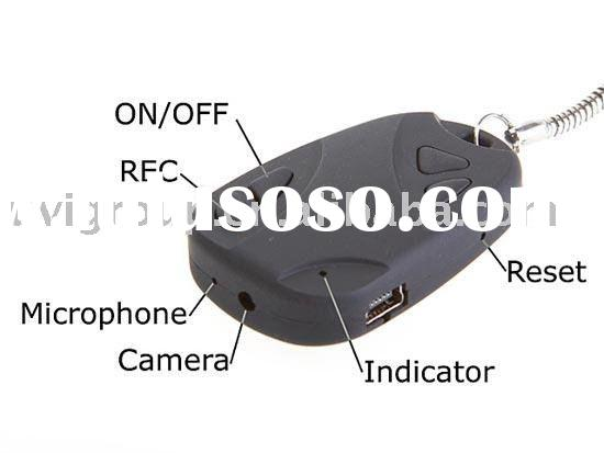 Mini Video recorder, Micro camera with Car Key shape, Key fob Remotes Camera