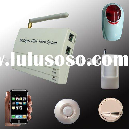Mini burglar alarm system for home and office