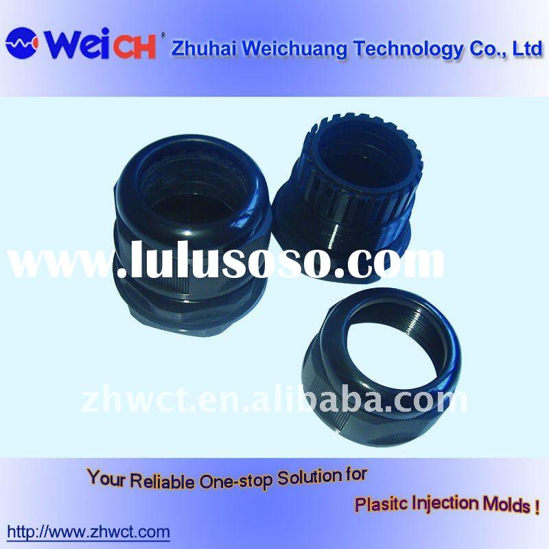 Mold design injection camera lens cover molded part
