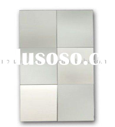 Mosaic design Art deco wall mirror, deco mirror, glass mirror