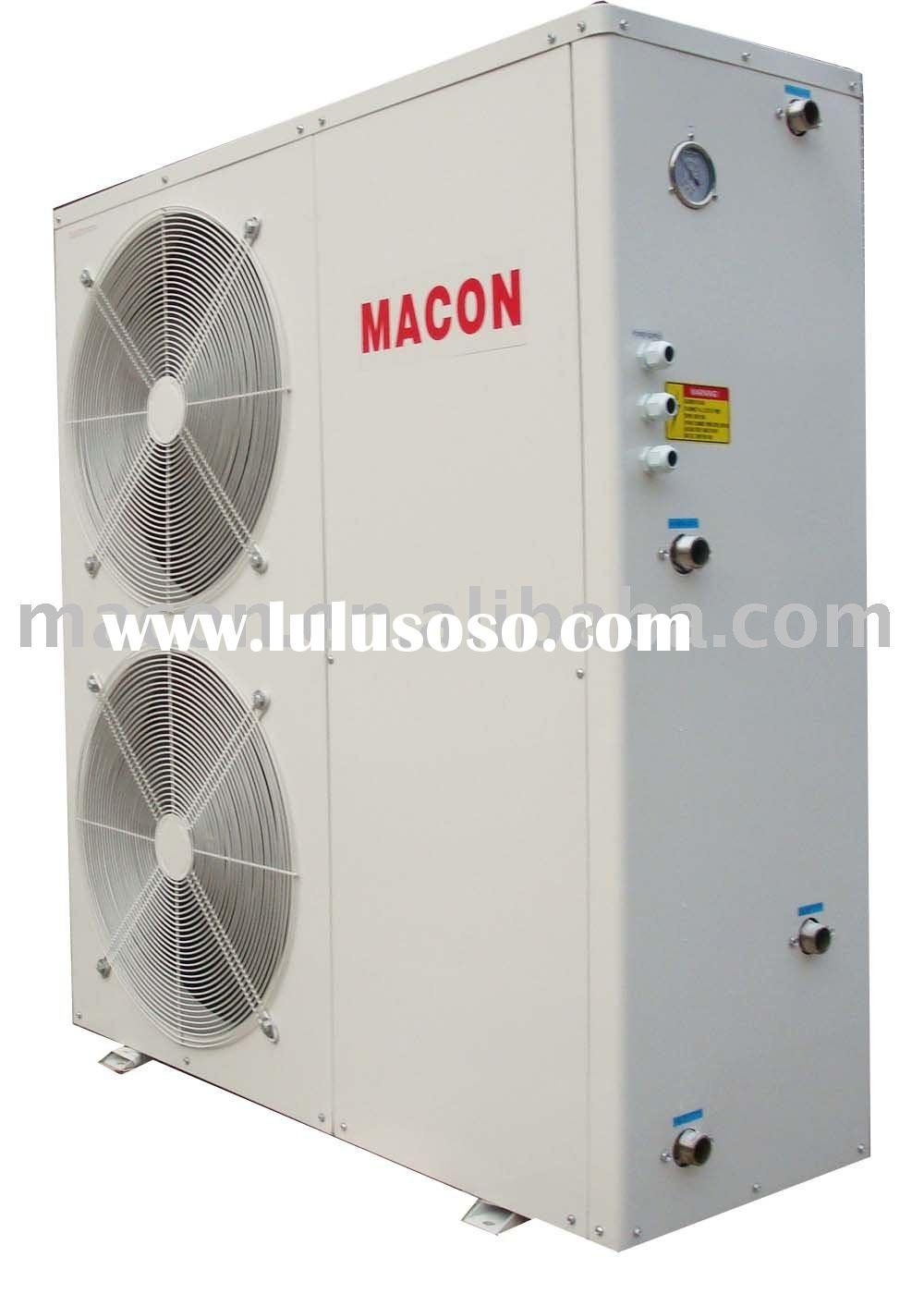 Multi-function heat pump air conditioner and floor heating