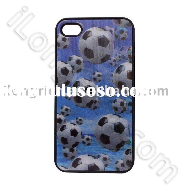 NEW and fashion Hard Plastic Protective football 3D Style cover For iPhone 4