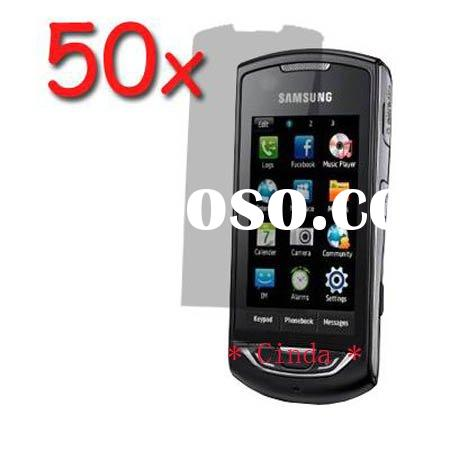 New Clear LCD Screen Protector for Samsung Monte S5620