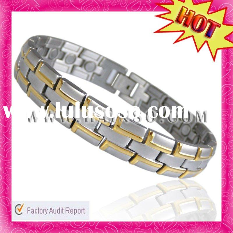 New Design Anti-Fatigue Mens Stainless Steel Jewellery