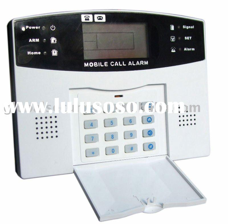 New GSM alarm system with 7 wired & 99 wireless defense zones