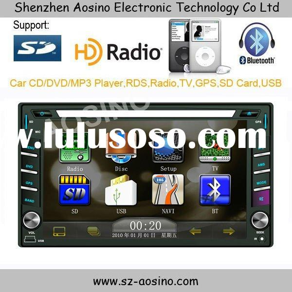 New and High quality 2DIN Car DVD with HD screen and PIP feature