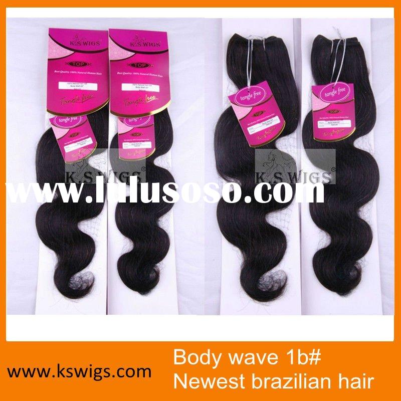 Newest brazilian Body wave human hair extension