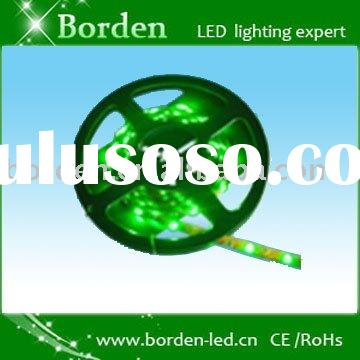 Non-waterproof, adhesive flexible, 3528 SMD ,10mm width LED strip with 5m/reel, 600LEDs