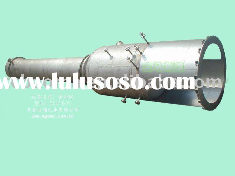 Oil deodorizer equipment of oil and fat refining plant of 10~800t/d