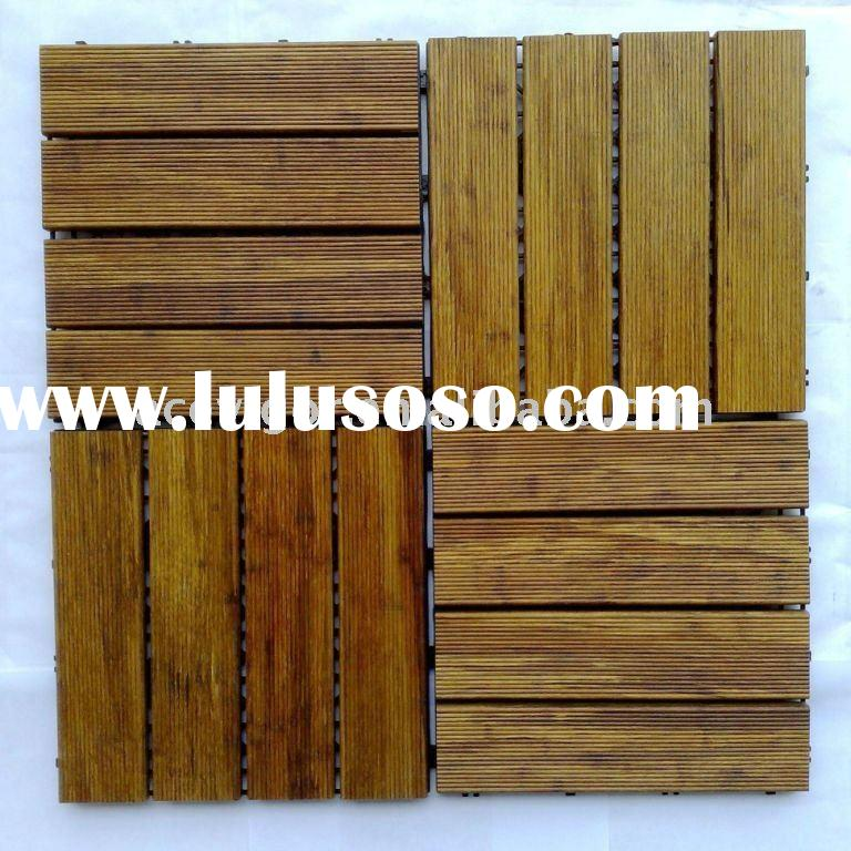 Outdoor Bamboo Floor Tiles