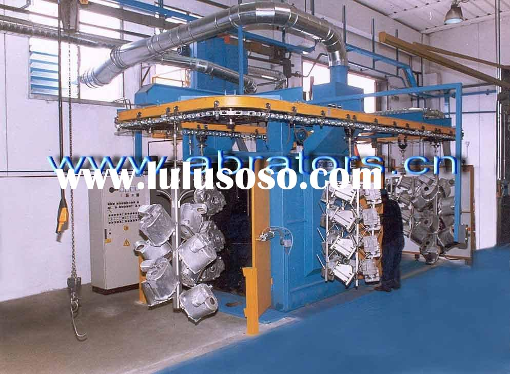 Overhead Rail Shot Blasting Machine, Suspension hook type shot blast