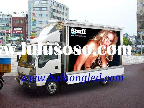 P10 Mobile Truck LED Billboard Screen for Advertising