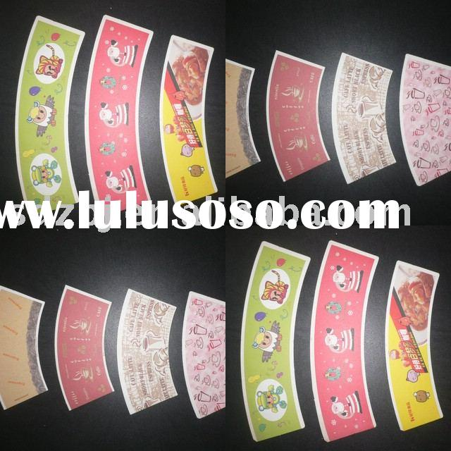 PE Coated Paper/printed and cut paper sheet