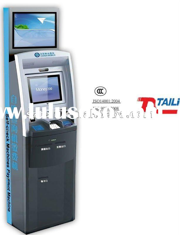 Payment Touch Screen Self-service atm kiosk TLST-1008