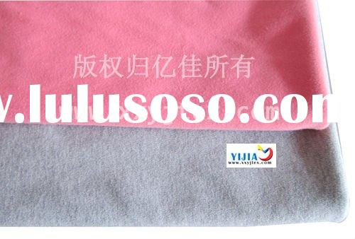 Pink Knitted flame retardant cotton fabric