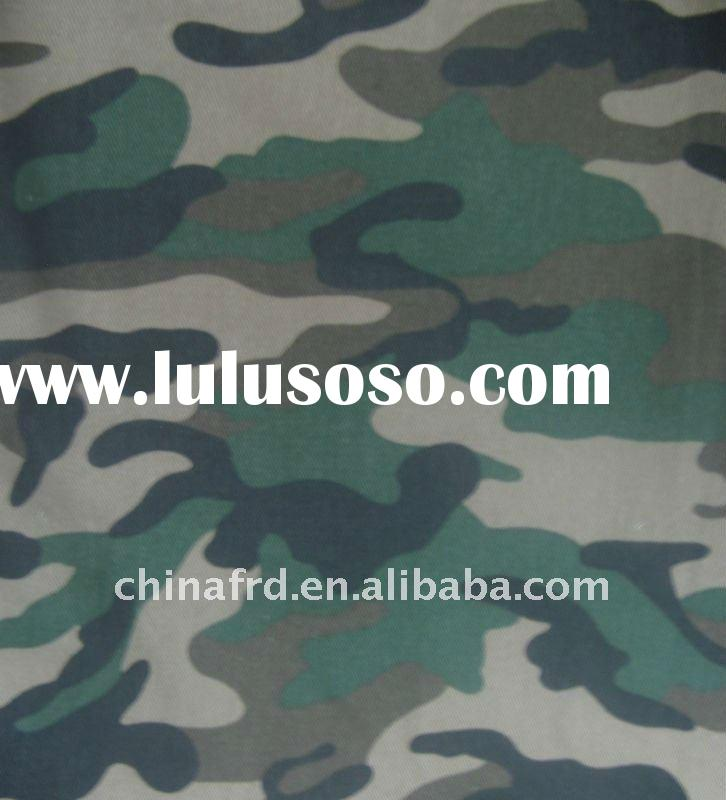 Polyester Cotton ( 80/20 ) Camouflage Printed Fabric, Various Designs
