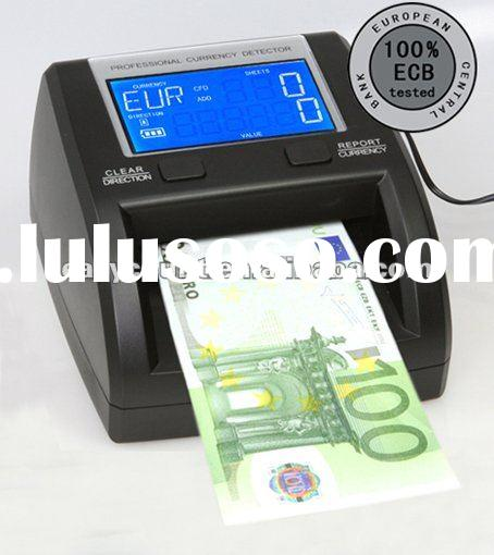 Portable 4 Directions Fake note Detector EC320 Series