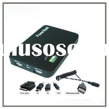 Portable High capacity power bank for computer and mobile phone