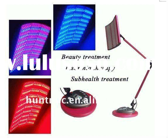 Portable PDT LED Light Therapy Skin Care Machine Red & Blue Light Therapy