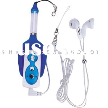 Portable electronic gift light pen with radio