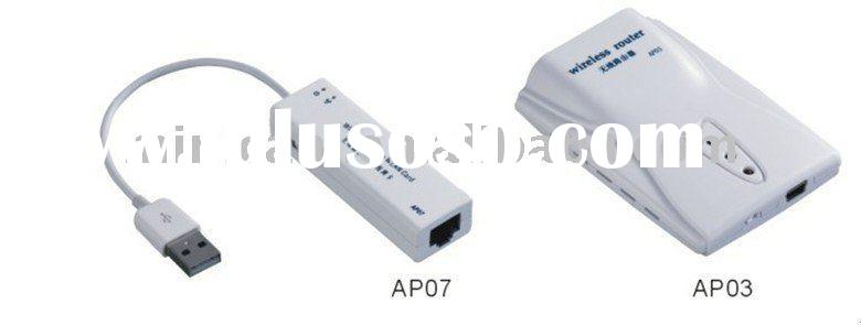 Portable mini USB wifi router, Wireless router,network router & Wlan card