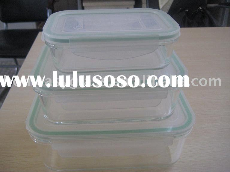Pyrex Glassware/Glass Storage Set/Glass Food Container
