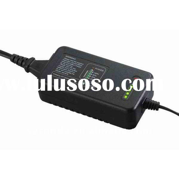 R6012AN 3.3A~2.1A 12V lead acid battey charger with fuel gauge