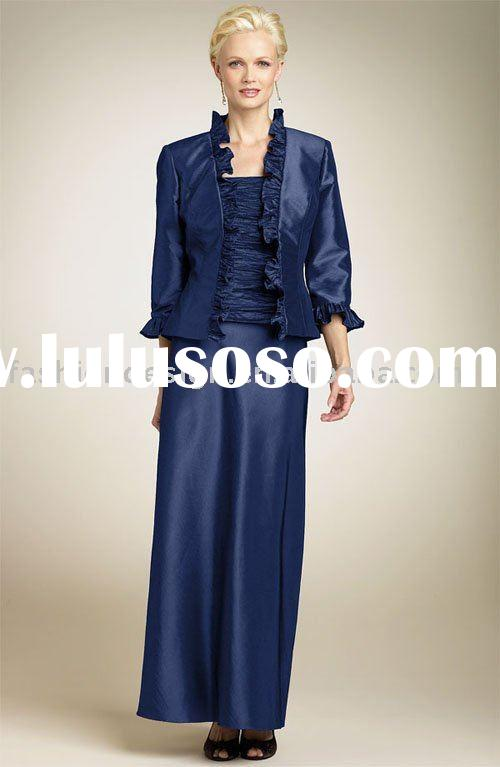 RB037 New style formal old lady evening dress bridesmaid dresses