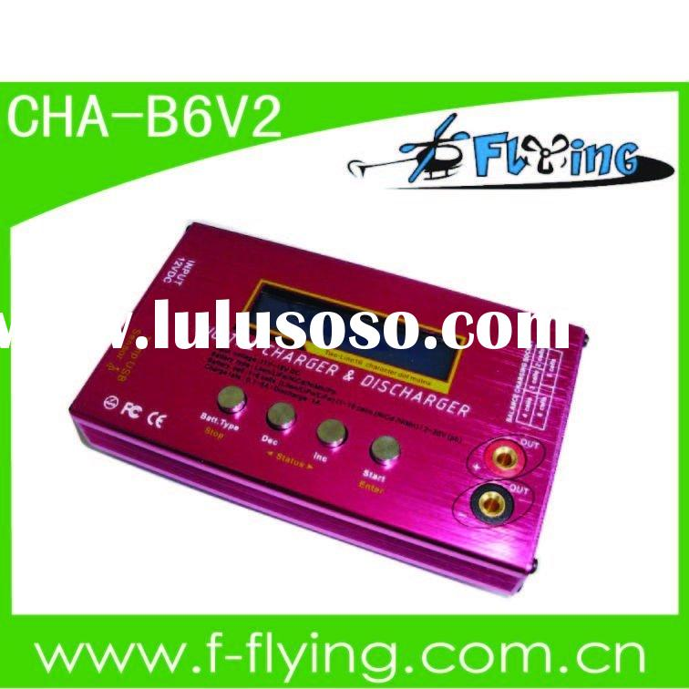 RC charger/discharger, 6S balance charger, battery charger, Lipo charger (Model: B6 V2)
