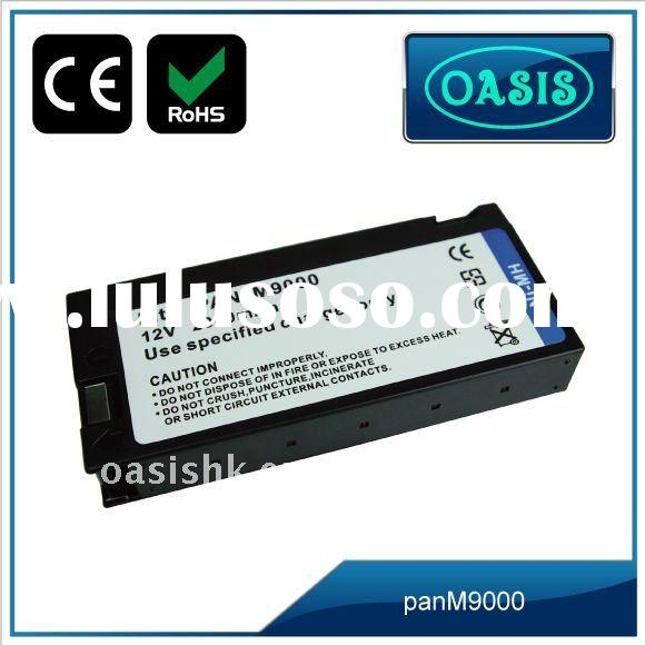 Rechargeable 12V Camcorder battery for panasonic M9000