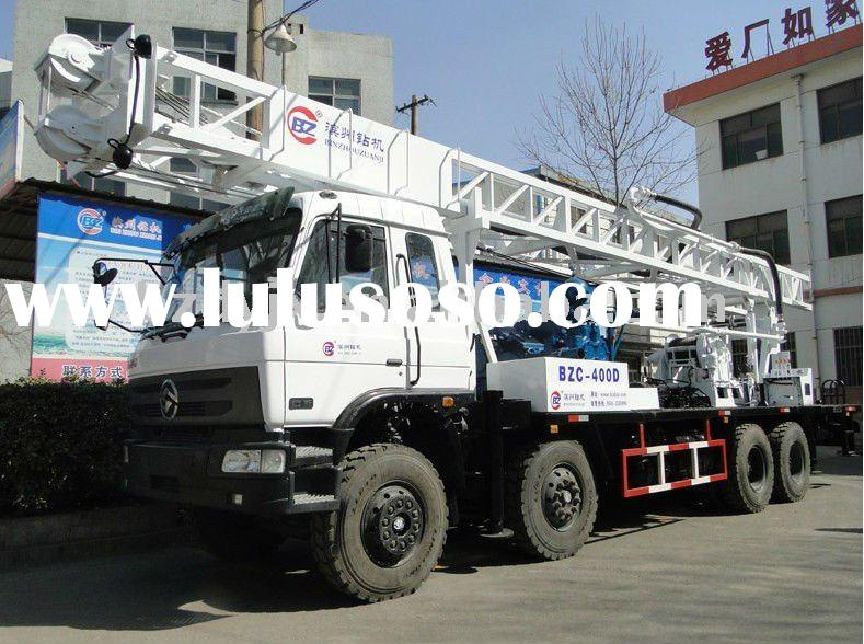 Rotary Hydraulic truck mounted drilling rig / piling rig