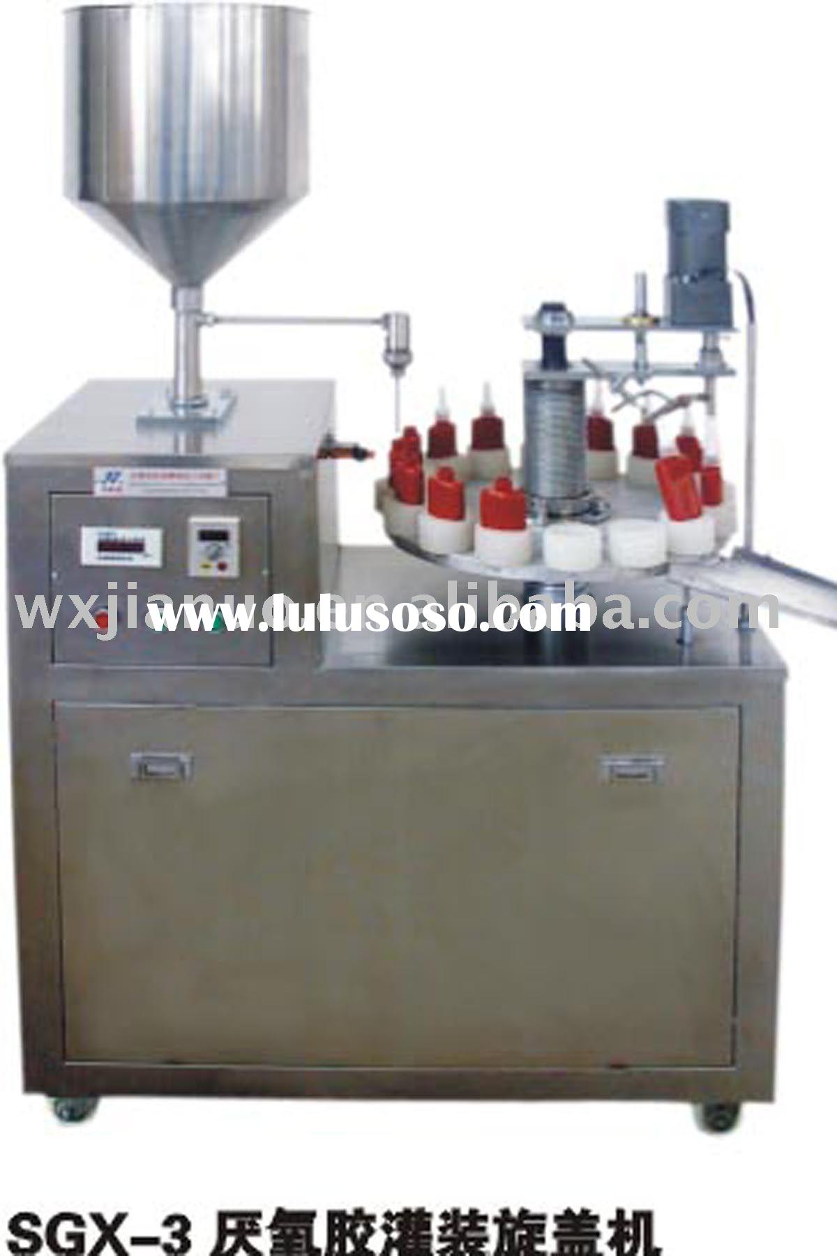 SGX-3 Instant glue filling and capping sealing machine