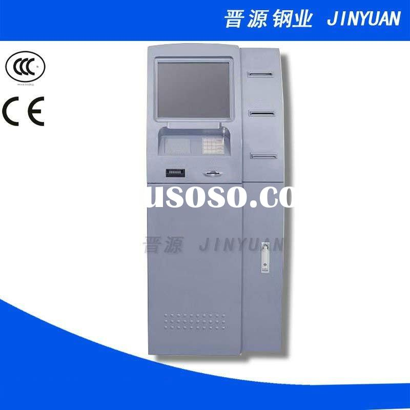 Sheet Metal Cabinet for Self-service Terminal ATM machine, deposit and withdraw ATM cabinet JINYUAN