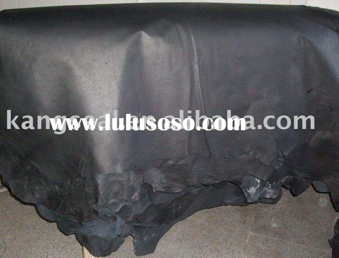 Shoe leather, Pig grain leather, Genuine leather & KSS2009