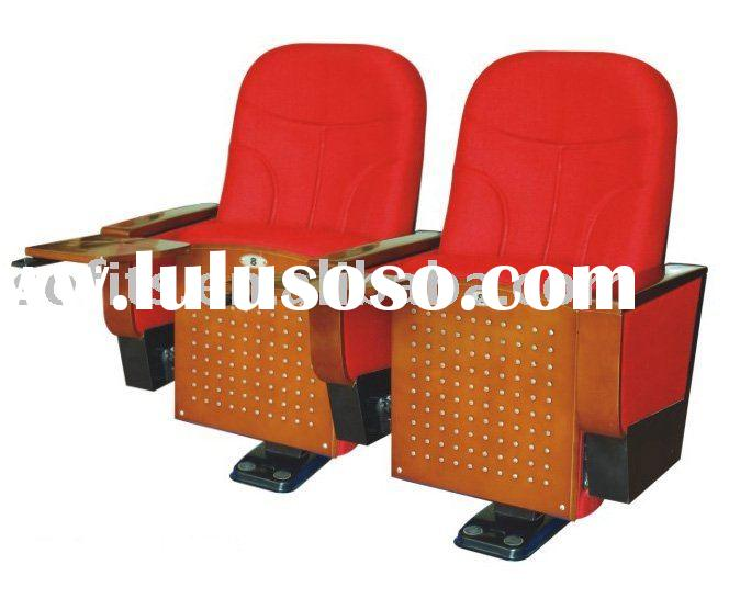 Soft Auto-folding Auditoria/Lecture Chair with Table