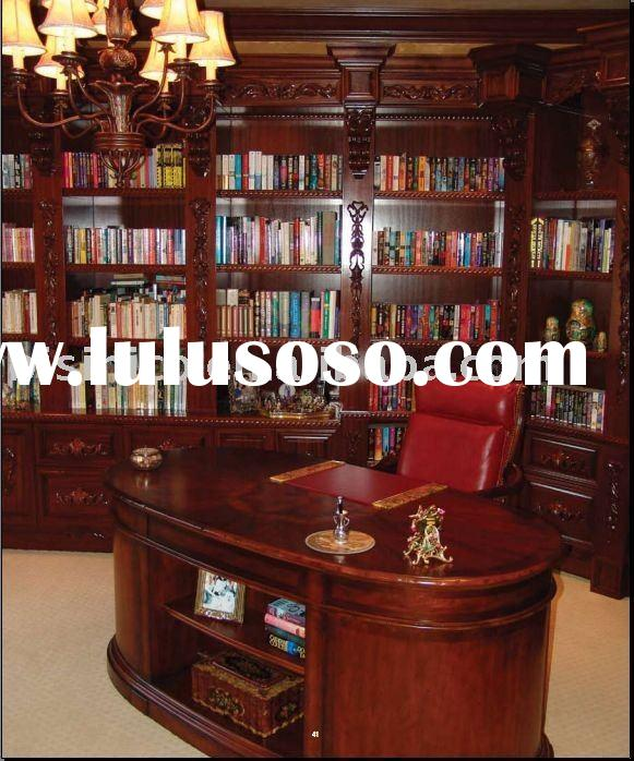 Solid wood Americna style office table,bookcase,office chair,office furniture,home office,home furni