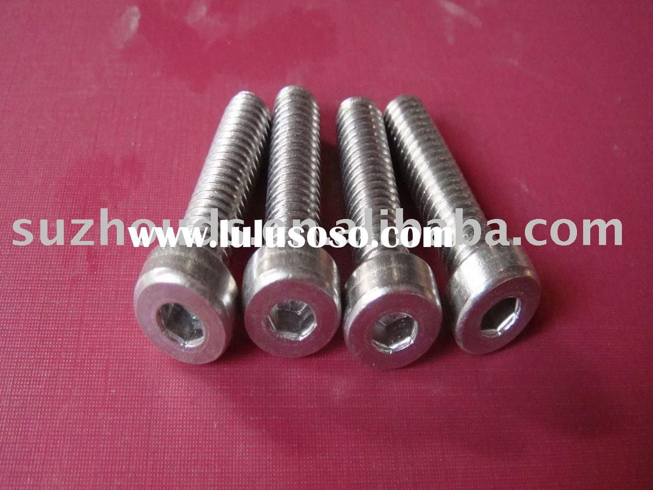 Stainless Hex socket thin head cap screws