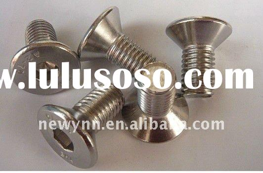 Stainless Steel A2-70 DIN7991 Hex Countersunk head cap screw