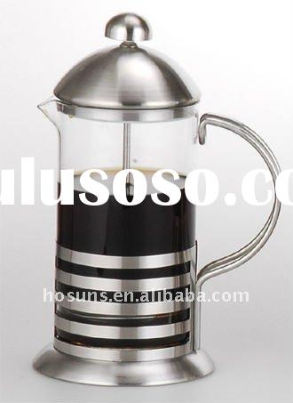 Stainless steel french press coffee maker (850ML) top quality