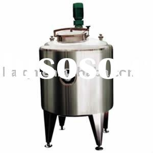 Stainless steel liquid mixing storage tank