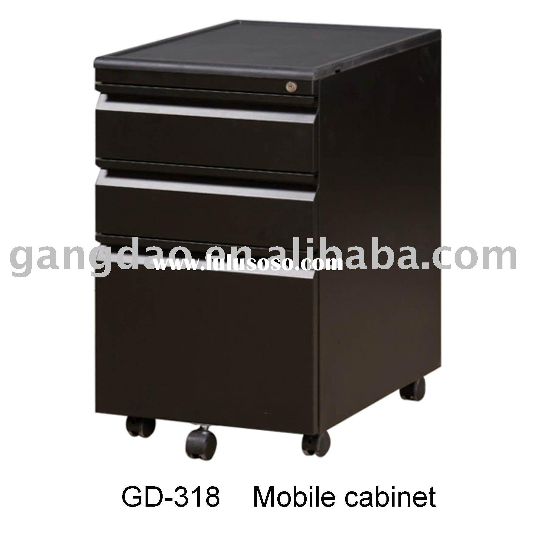 Steel office storage furniture mobile file cabinet