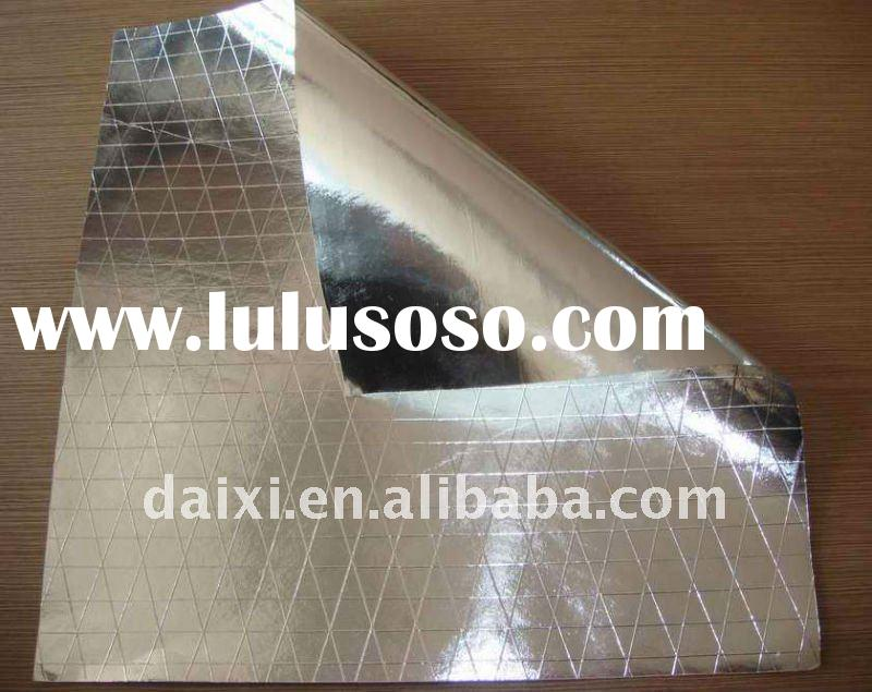 THERMAL insulation, reflective aluminum foil insulation blanket