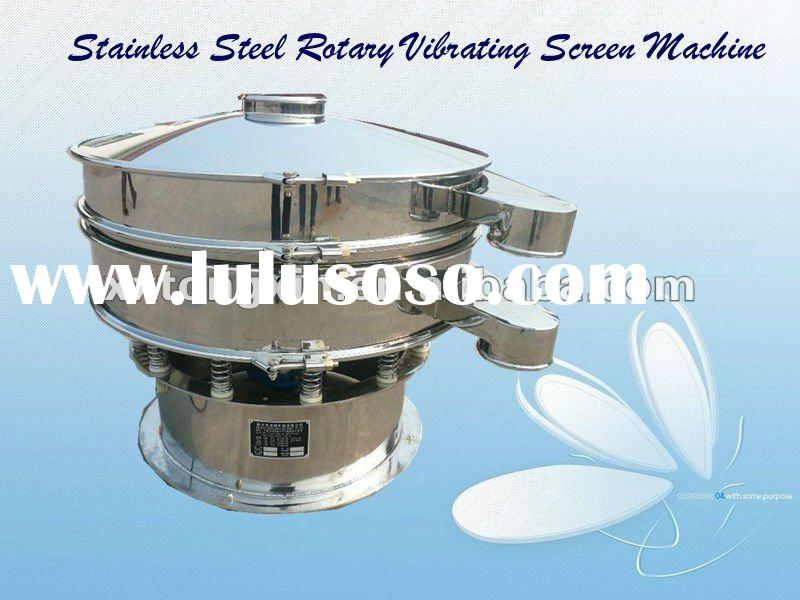 TX brand hot sale high efficiency rotary vibrating sieve for compost