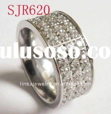The most popular style wholesale stainless steel ring